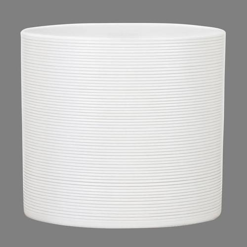 Keramik-Übertopf, rund, 11x12x12 cm, Panna