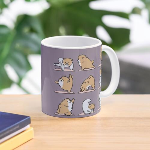 Pomeranian Yoga Mug
