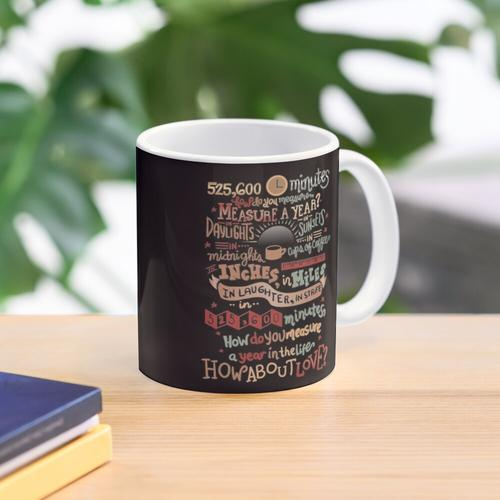 How Do You Measure a Year? Mug