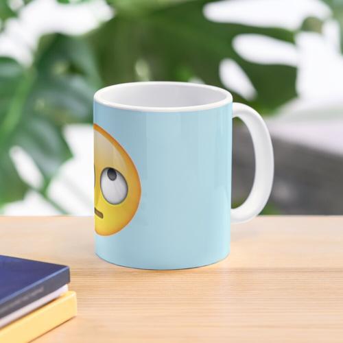 Eye Rolling Emoji Mug