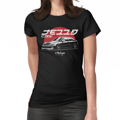 Tezza crew. Altezza / IS Women's Fitted T-Shirt
