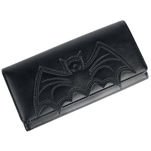 Banned Alternative Bat Wallet Geldbörse - schwarz