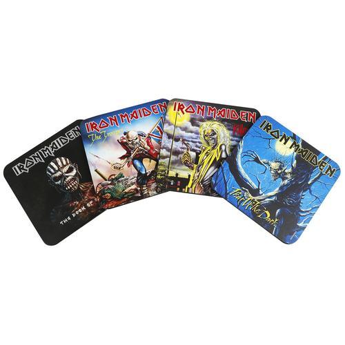 Iron Maiden Untersetzer Untersetzer - multicolor - Offizielles Merchandise
