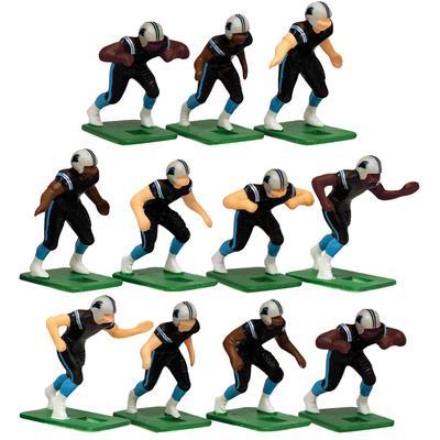 Carolina Panthers Dark Uniform Action Figures Set
