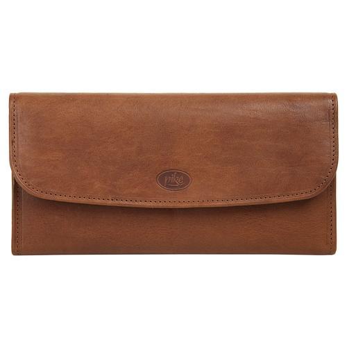 Piké Brieftasche, 2fach klappbar braun Taschen Brieftasche Unisex