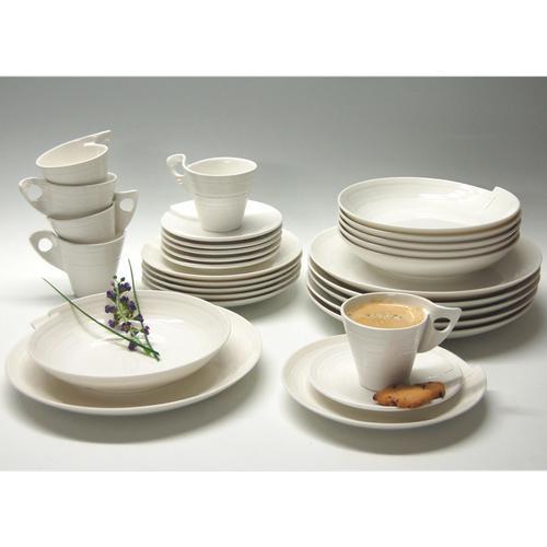 Retsch Arzberg Kombiservice Julie, (30 tlg.) weiß Geschirr-Sets Geschirr, Porzellan Tischaccessoires Haushaltswaren