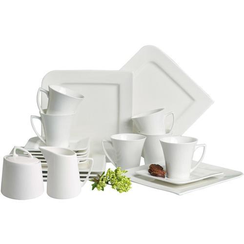 Retsch Arzberg Kaffeeservice Fantastic, (20 tlg.) beige Geschirr-Sets Geschirr, Porzellan Tischaccessoires Haushaltswaren