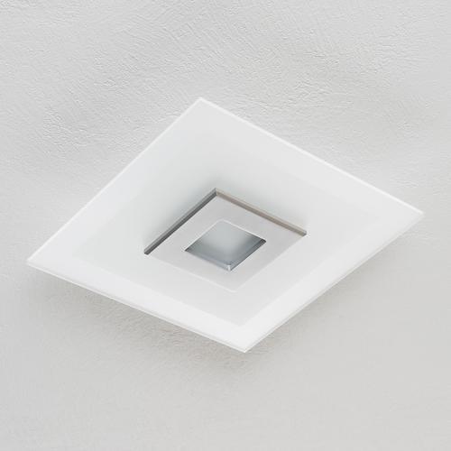 LED-Deckenleuchte Tian mit Glasschirm, 39 cm