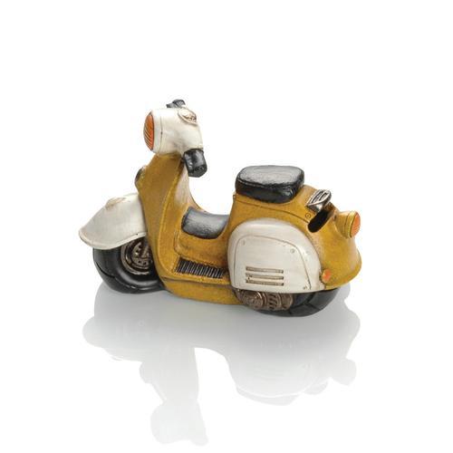 Booster Spardose Roller 14, gelb