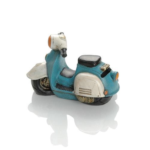 Booster Spardose Roller 14, blau