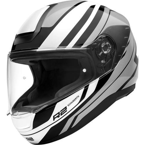 Schuberth R2 Enforcer Helm, grau-weiss, Größe S
