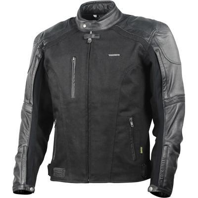 Trilobite Fueller Combo Motorrad Textiljacke, schwarz, Größe L