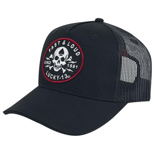 Lucky 13 Fast and Loud Trucker Cap Cap - schwarz