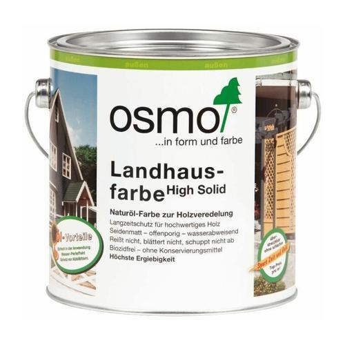 Osmo Landhausfarbe 2,5 l, nordisch rot