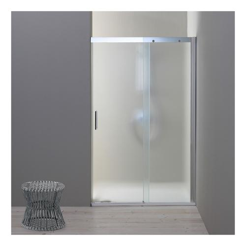 Duschtür Für Nische 130 Cm Modell Dream Mit Festem Element Rechts Aus Mattem Kristallglas