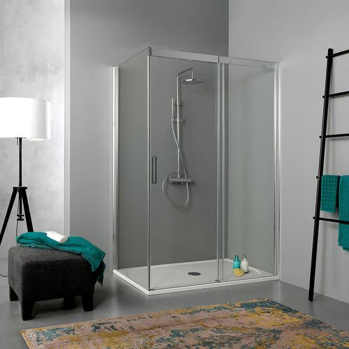 Duschkabine 150 × 70 Aus Transparentem 6 Mm Kristallglas In Der Höhe Von 190 Cm
