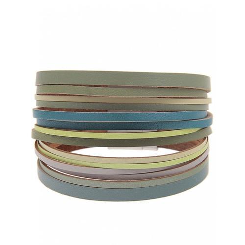 leslii Armband, mit Magnetverschluss grün Damen Armbänder Schmuck Armband