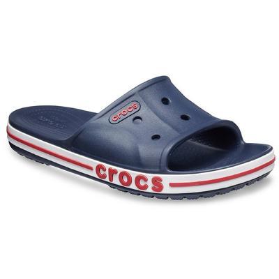 Crocs Navy / Pepper Bayaband Slide Shoes