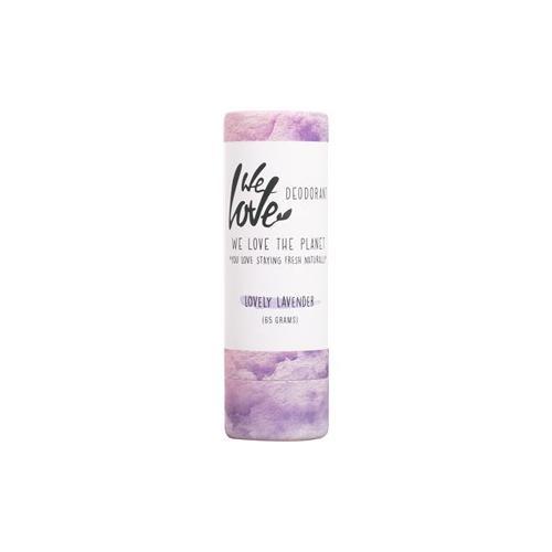 We Love The Planet Körperpflege Deodorants Lovely Lavender Deodorant Stick 65 g