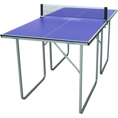 Joola Mini-Tischtennisplatte Midsize, (2 tlg.), Das Netz ist im Lieferumfang enthalten blau Tischtennis-Ausrüstung Tischtennis Sportarten
