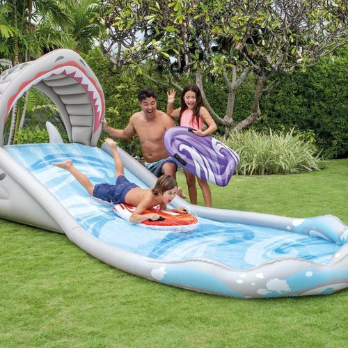 Intex Aufblasbare Wasserrutsche Surf 'n Slide 57159NP
