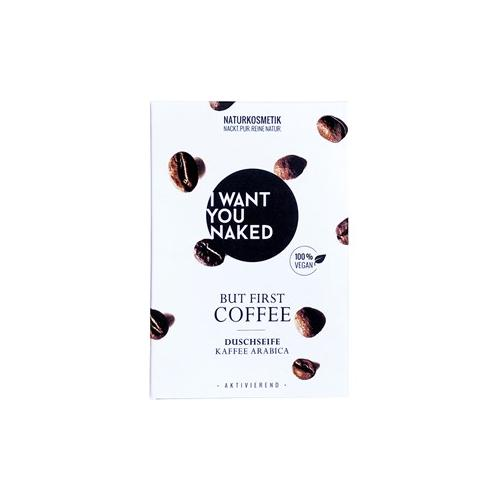 I Want You Naked Körperpflege Duschseife Kaffee & Mandelöl Duschseife 100 g