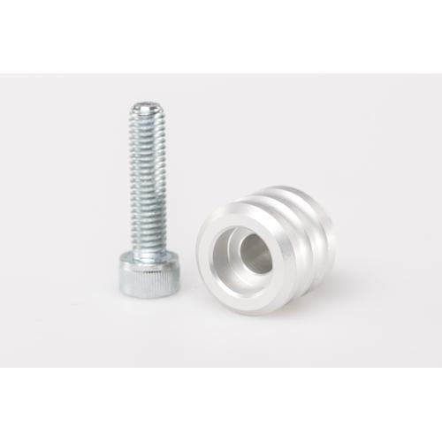 SW-Motech Schalthebel-Verlängerung - Verlängerung um 15 mm. Silbern. Universal., weiss