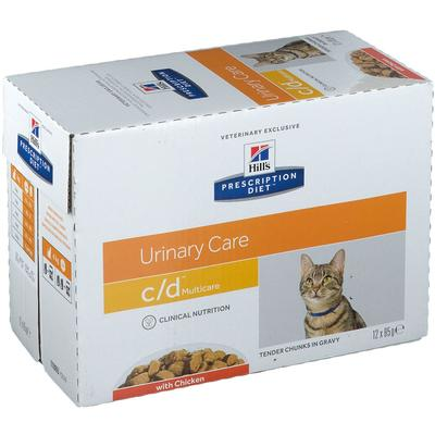 Hill's Presciption Diet™ c/d Multicare Aliment pour chat au poulet g sachet(s)