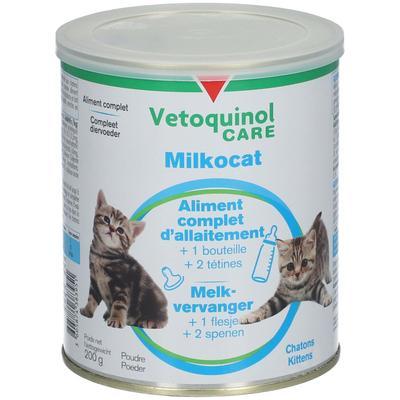 Vétoquinol Care Milkocat Poudre pour chatons g poudre