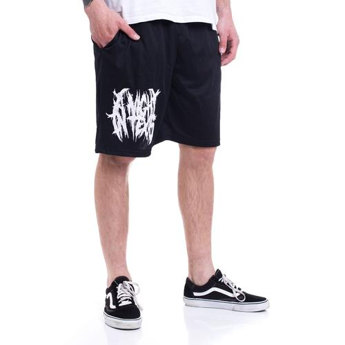 A Night In Texas - Logo Zip - Shorts