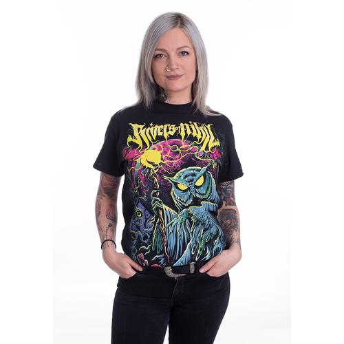 Rivers Of Nihil - Blacklight - - T-Shirts