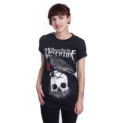 Bullet For My Valentine - Raven - - T-Shirts