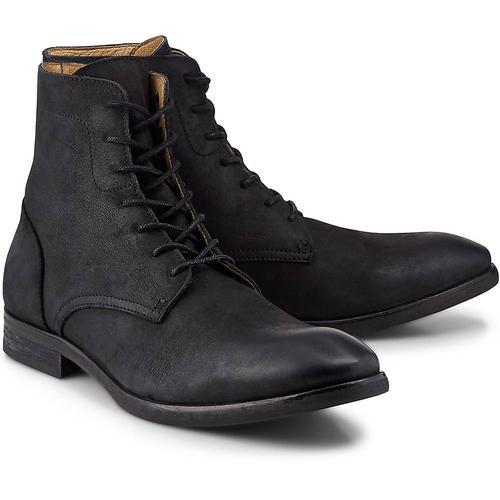 H by Hudson, Stiefelette Yoakley in schwarz, Stiefel für Herren Gr. 43