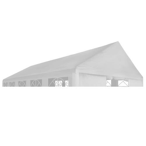 vidaXL Partyzeltdach 3 x 6 m Weiß