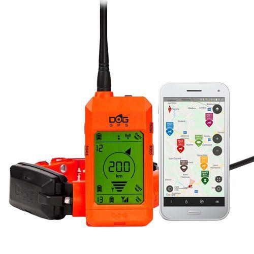 DogTrace GPS X30 Hundeortungsgerät für die Jagd - Hundeortung mit Google Maps