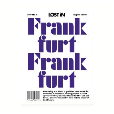 Lost In - Frankfurt Travel Guide - Purple/White