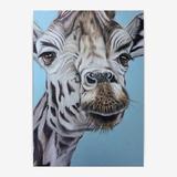 makwerk - Giraffe Poster - A4 (2...