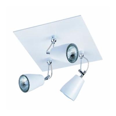 Astro Lighting - White Polar Triple Spotlight - White