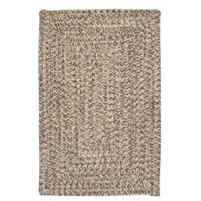 Corsica Rectangle Area Rug, 2 by 12-Feet, Storm Gray