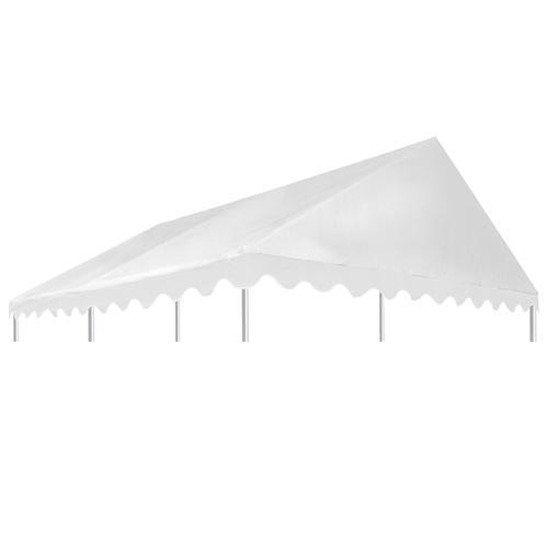 vidaXL Pavillondach PVC 500 g / m² 3x4 m Weiß