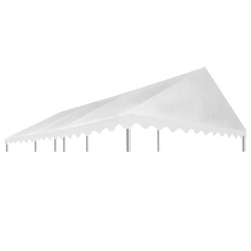 vidaXL Pavillondach PVC 500 g / m² 3x6 m Weiß