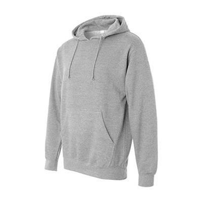 Independent Trading Co. Midweight Hood Sweatshirt SS4500-Gry Hth-XL
