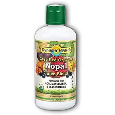 Dynamic Health Organic Certified Juice Blend, Nopal, 33.8 Fluid Ounce