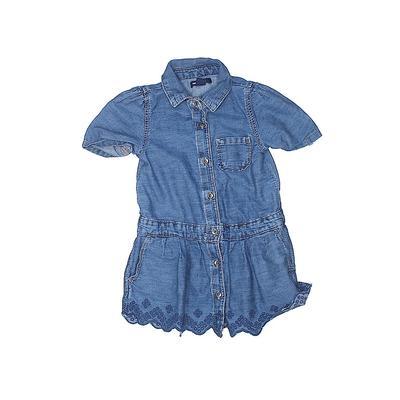 Baby Gap Dress - Shirtdress: Blu...