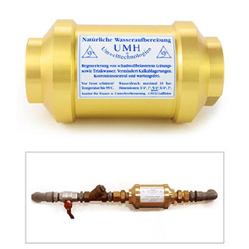 UMH Master   Wasser-Energetisierung für Hausanschluss   1/2 Zoll