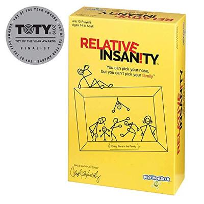 Relative Insanity Party Game about Crazy Relatives - Made and Played by Comedian Jeff Foxworthy - 74