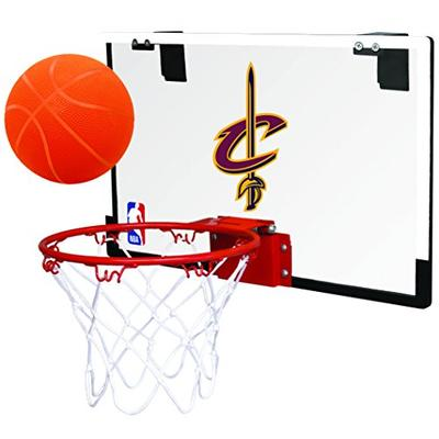 NBA Cleveland Cavaliers 00664199111NBA Game On Polycarbonate Hoop Set (All Team Options), Red, Youth