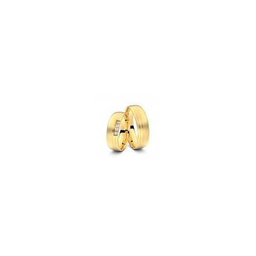 Trauringe Remscheid 585er Gelbgold - 6773