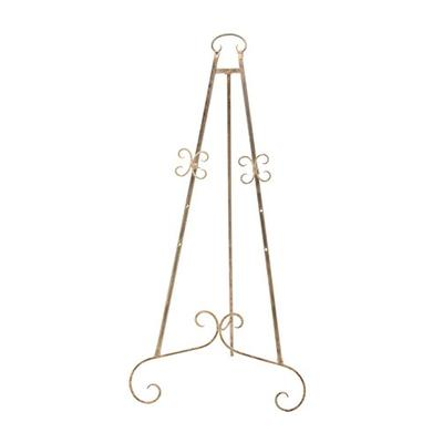 """Deco 79 27389 Easel 46"""" x 22"""" Gold"""