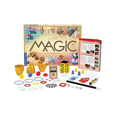 Thames & Kosmos Magic: Gold Edition Playset with 150 Tricks